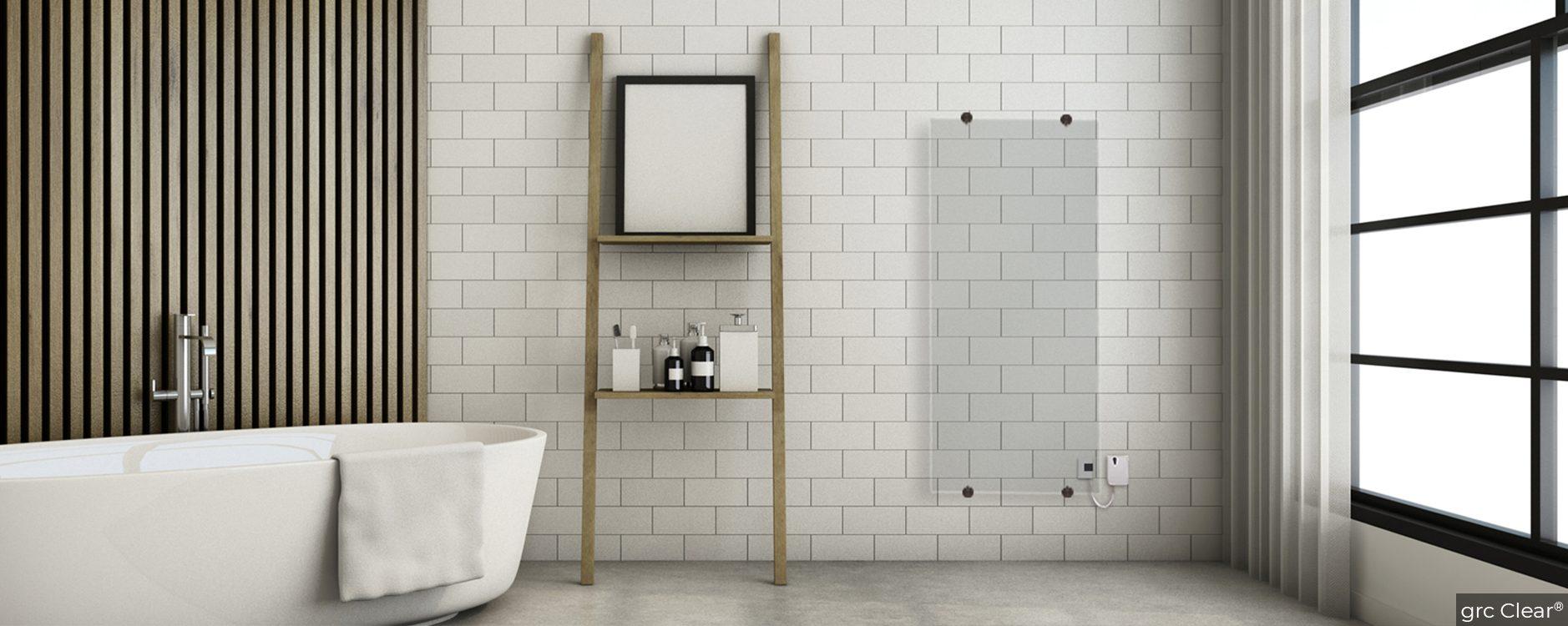 Bathroom grc Clear